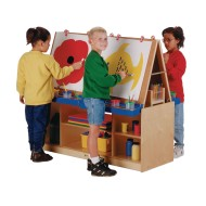 Jonti-Craft® 4-Station Art Center