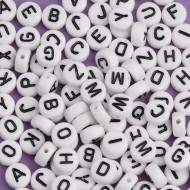 Color Splash!® Alphabet Bead Assortment