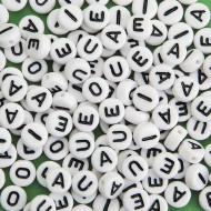 Color Splash!® Alpha Vowel Bead Assortment (Bag of 144)