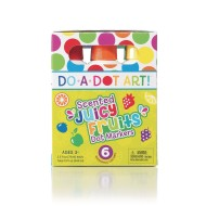 Juicy Fruits Scented Do-A-Dot™ Art Markers (Set of 6)