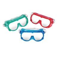 Colored Safety Goggles (Set of 6)