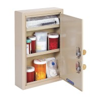 MMF Industries™ Steelmaster® Compact Medical Security Cabinet