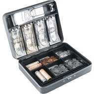 MMF Industries™ Steelmaster® Tiered Tray Cash Box
