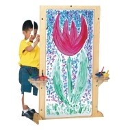 Jonti-Craft® See-Thru Easel