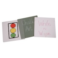Jonti-Craft® Write-n-Wipe Easel Panel - Double