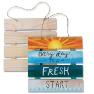Wood Pallet Signs (Pack of 6)