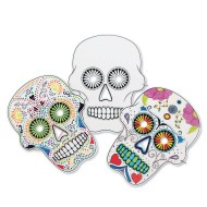 Sugar Skull Masks (Pack of 24)