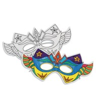 Super Hero Half Masks (Pack of 24)