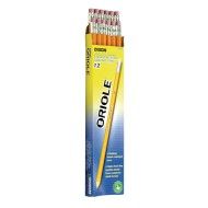Dixon Oriole® Pre-sharpened #2 Pencils (Pack of 12)