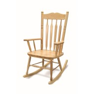 Hardwood Rocking Chair,