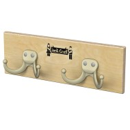 Coat Rail with Hooks