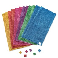 Color Splash!® Adhesive Glitter Foam Squares