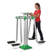 Dual Abdominal Exercise Station