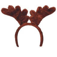 Soft-Touch Reindeer Antler Headband