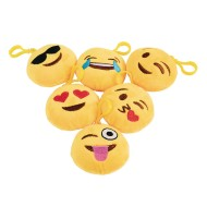 Emoji Clip Plush (Pack of 12)