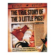 True Story of the Three Little Pigs Book