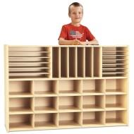 Young Time™ Sectional Cubbie Storage - without trays