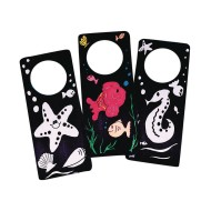 Velvet Art Door Hangers Craft Kit