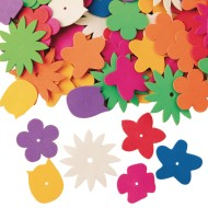 Color Splash!® Foam Flower Assortment, 1/2 lb.