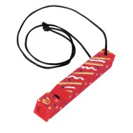 Wood Train Whistle Lanyard Craft Kit (Pack of 12)