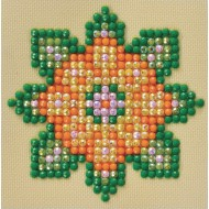 Flower Mandala Craft Kit (Pack of 10)
