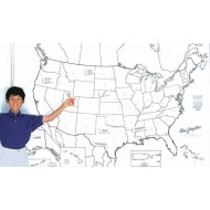 United States Map Learning Wall®
