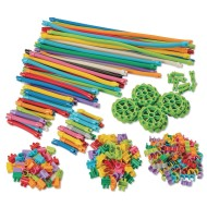 Magic Wands, Tubes, and Connectors Building Set
