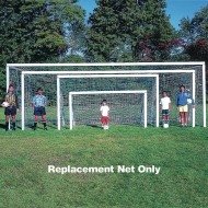 White Replacement Soccer Nets, 6' x 12'