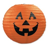 Jack-O-Lantern Paper Lanterns (Pack of 3)