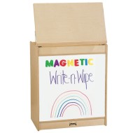 Jonti-Craft® Magnetic Write-n-Wipe Big Book Easel