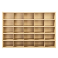 Young Time™ 25 Tray Cubbie Storage - without trays