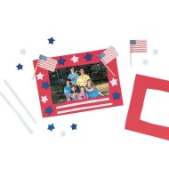 Stars 'N Stripes Frame© Craft Kit (Pack of 12)