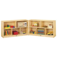 Jonti-Craft® Low Fold-n-Lock Storage Unit