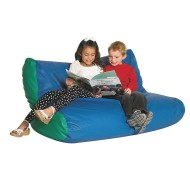 Children's Factory® School-Aged Double High Back Lounger