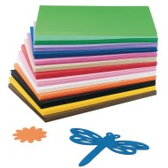 Color Splash!® Foam Sheet Assortment (Pack of 78)