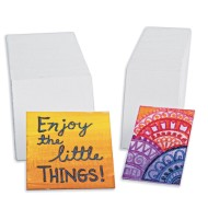 Mini Canvas Panel,  (Pack of 60)