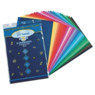Tissue Paper 25 Assorted Colors, 12