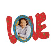 Wood Love Frame Craft Kit (Pack of 12)