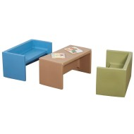 Children's Factory® Woodland Adapta-Benches® (Set of 1)