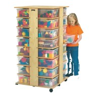 Jonti-Craft® 32-Cubbie Tower without Tubs