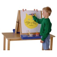 Jonti-Craft® Double Sided Table Top Easel
