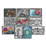 Mini Velvet Art Posters (Pack of 100)