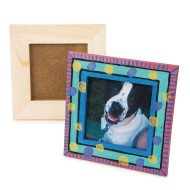 Unfinished Small Wooden Frames