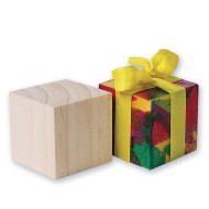 "2"" Wood Craft Cubes (Pack of 24)"
