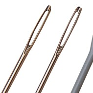 Large Eye Needles - Steel