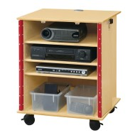 Jonti-Craft® Lockable Presentation Cart