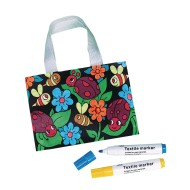 Velvet Bug Tote Craft Kit (Pack of 12)