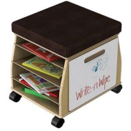 Jonti-Craft® Sidekick Mobile Teachers Stool
