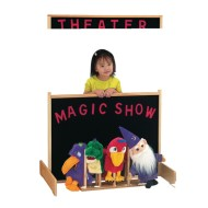 Jonti-Craft® Space Saver Multi-Play Puppet Theater Screen