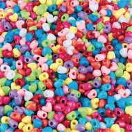 Color Splash!® Pony Bead Assortment, Hearts